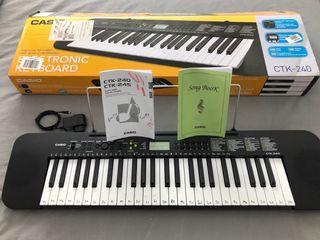 Teclado piano electrónico Casio CTK 240
