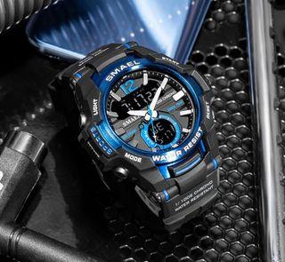 Reloj deportivo grande nuevo para hombre