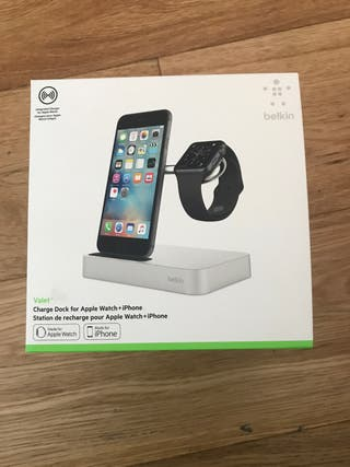 Cargador Apple Watch + iPhone belkin