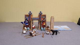 Playmobil templo Egipto