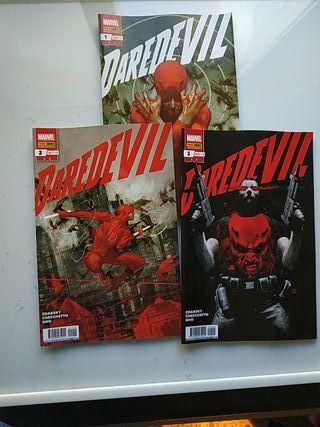 comics Daredevil 1 a 3