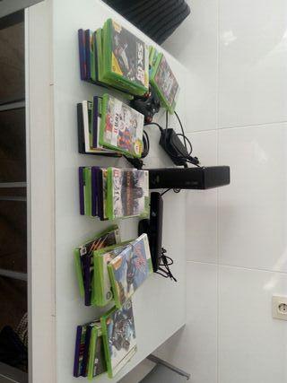 XBOX 360 + 35 juegos......Fifa 11/19...ASSASSIN'S.