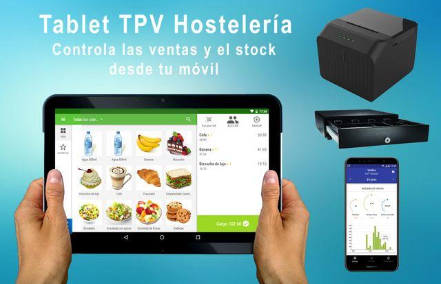 Tpv Tablet de Hostelería completo.