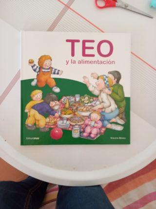 libro infantil 'teo y la alimentación'
