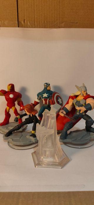 Figuras Los Vengadores