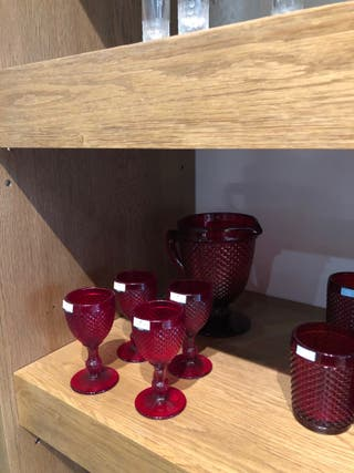 Copas de vino blanco Mod. Bicos de Vista Alegre