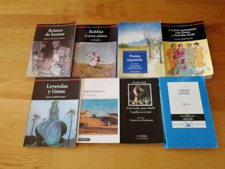 Libros lectura secundaria bachillerato castellano