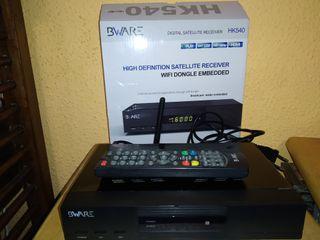 decodificador bware hk540 wifi como qviart