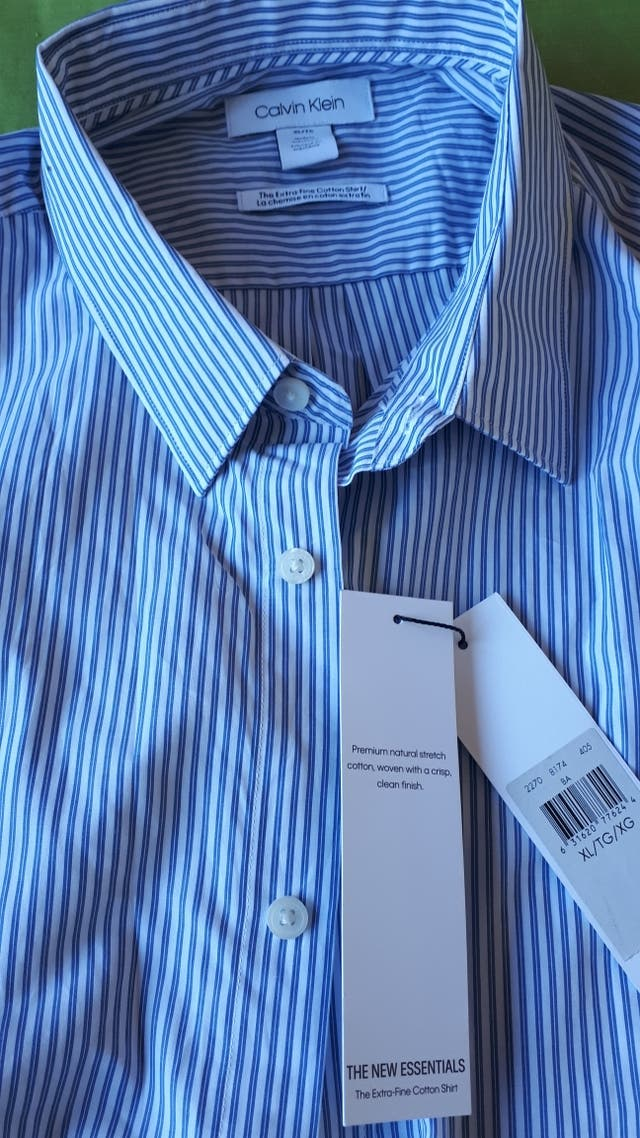 Camisa NUEVA Calvin Klein Talla xl