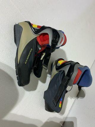 Botas esqui de fondo patinador