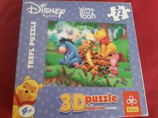 PUZZLE 3D. 72 PIEZAS. ROMPECABEZAS WINNIE THE POOH