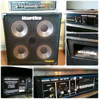 Amplificador Bajo HARTKE 350W