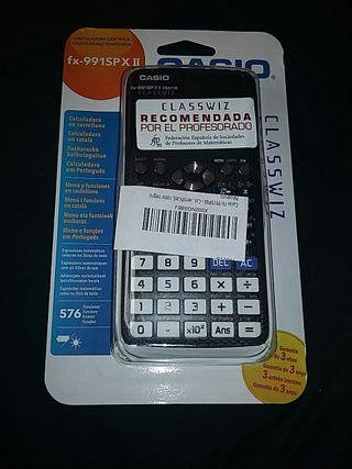 calculadora cientifica fx-991SPXII