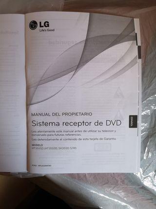 Equipo DVD Home Cinema LG
