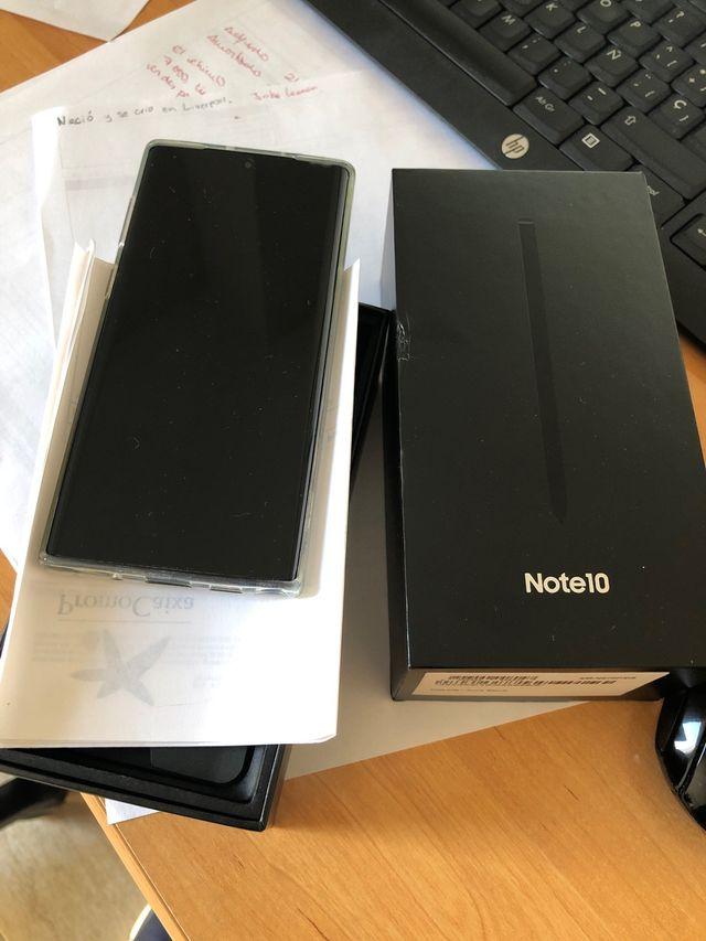 Note10 black 256GB