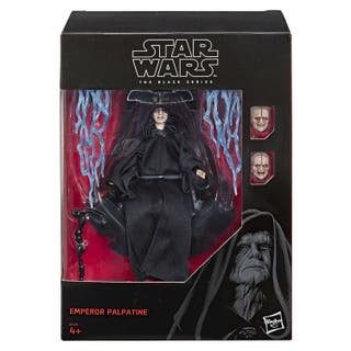 star wars black series , emperador palpatine