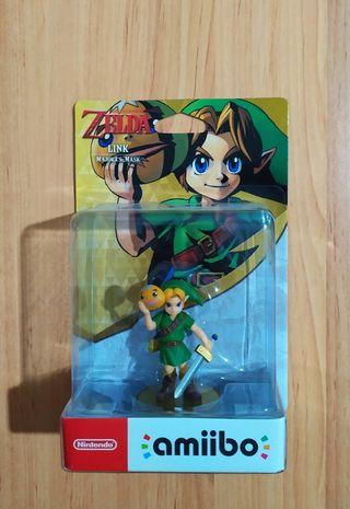 Amiibo Zelda Link Majora's Mask precintado