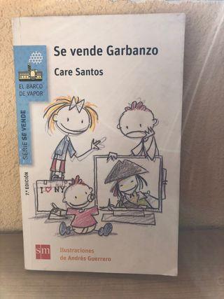 """Libro infantil """" se vende garbanzo"""""""