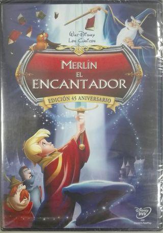 Merlín el Encantador. Walt Disney- DVD ¡NUEVO!