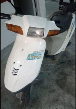 Suzuki address 50. moto