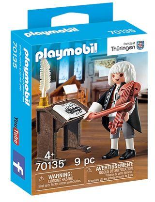 playmobil: J. Sebastian Bach. SIN ABRIR