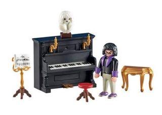 Playmobil: pianista con piano SIN ABRIR
