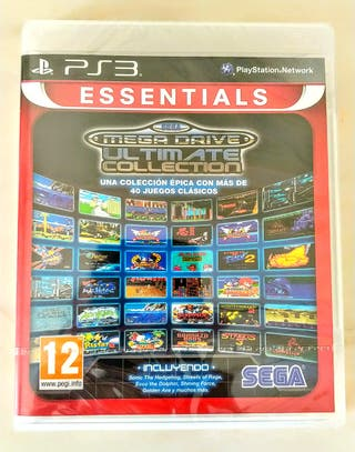 Precintado!!! Juego PS3 Sega MegaDrive Ultimate