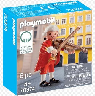 playmobil: Amadeus Mozart SIN ABRIR