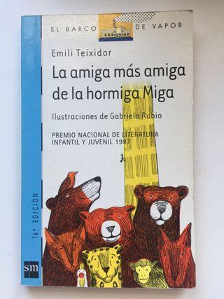 """Libro """"La amiga más amiga de la hormiga Miga"""""""