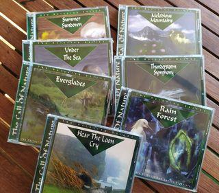 CD's Música ambiental relajante