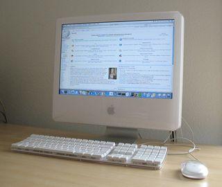 iMac G5 Power PC. Office y Suite Adobe Insatalados