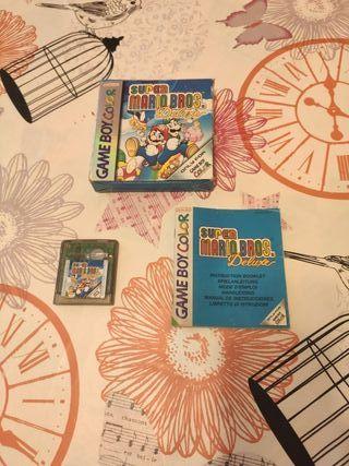 Super Mario Bros Deluxe original Game Boy Color