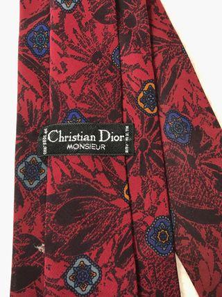 Corbata VINTAGE Dior