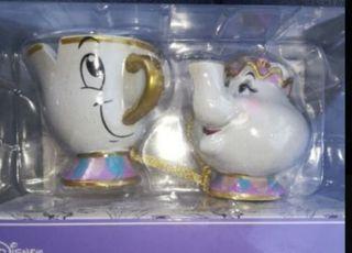 Taza Chip y tetera Sra Potts Navidad Primark