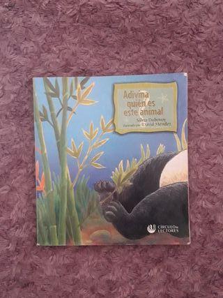 Libro infantil de adivinanzas.