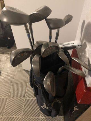 Juego completo palos de golf de señora