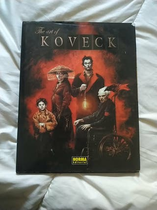 the art if koveck, Norma editorial tapa dura