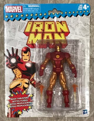 Marvel Legends Retro Wave 1: Iron Man