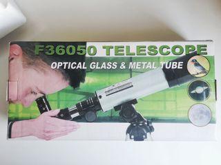 Telescopio tipo refractor F36050-principiantes