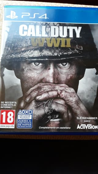PS4 CALL OF DUTTY WWII