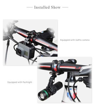 Soporte GoPro manillar bici (SIN USO)