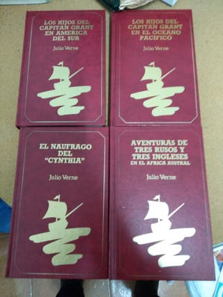 Pack 4 libros Julio Verne
