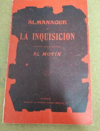 ALMANAQUE DE LA INQUISICION.