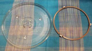 Plato microondas 27 cm