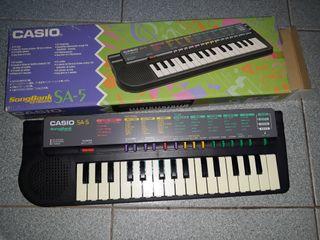 SongBank keyboard Casio SA-5 Teclado musical
