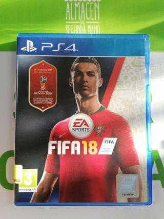 JUEGO PS4 FIFA 18 GARANTIA!!
