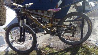 bici descenso freeride scott voltage