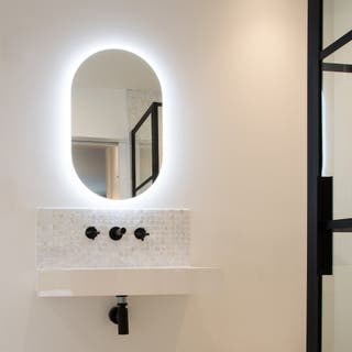 Designer roper Rhodes mirror anti steam led