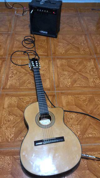 Guitarra Ibanez Amplificada