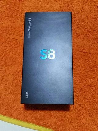 Caja del Samsung Galaxy S8